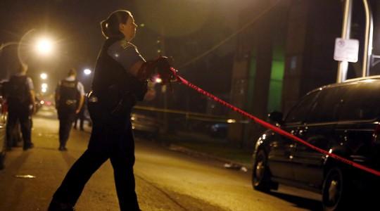 2 vụ nổ súng liên tiếp xảy ra gần trường ĐH Illinois. Ảnh: Reuters