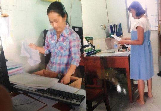 Bà Phan Ngọc Như Minh tố cáo Chi cục Kiểm lâm tỉnh Tiền Giang kiểm tra nơi làm việc của mình nhưng không có quyết định Ảnh: C.T.V