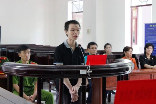 Bị cáo Phạm Việt Huy tại phiên xét xử sơ thẩm