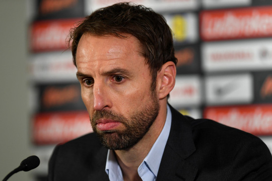 HLV tạm quyền tuyển Anh Gareth Southgate