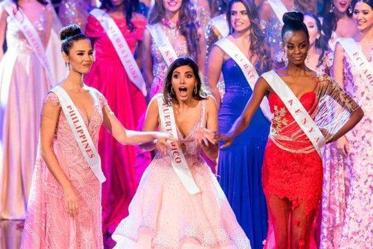 Người đẹp Puerto Rico hạnh phúc khi được xướng tên đăng quang
