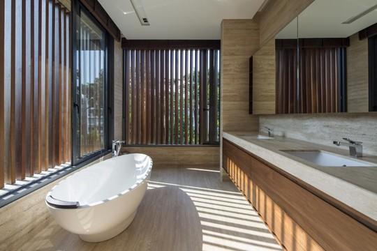 Phong cách thiết kế sang trọng, tinh tế có được thể hiện ở từngchi tiết trong không gian nội thất