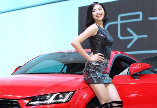 Bóng hồng của hãng xe Audi