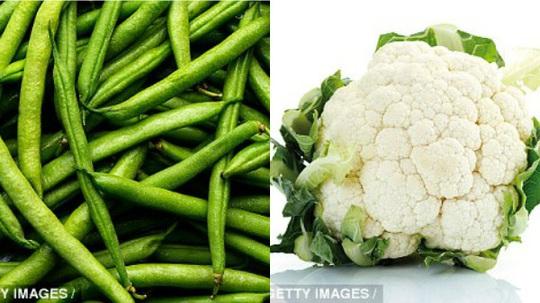 Khi sử dụng đậu nấu chung với súp lơ sẽ giúp cơ thể tăng khả năng hấp thu các khoáng chất có lợi. (Ảnh: getty images)