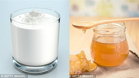 Sữa kết hợp cùng mật ong mang lại vô vàn những ích lợi. (Ảnh getty images)
