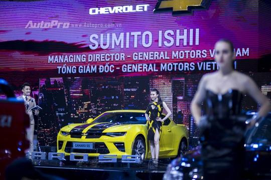 Chevrolet Camaro hứa hẹn sẽ được phân phối chính hãng tại Việt Nam với giá hợp lý hơn nhờ động cơ 2.0L Turbo.