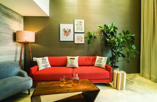 Đi tìm sự thoải mái trong bài trí nội thất