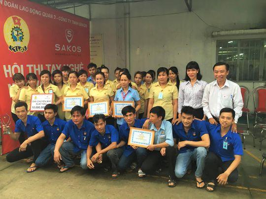 Các đội đoạt giải trong hội thi