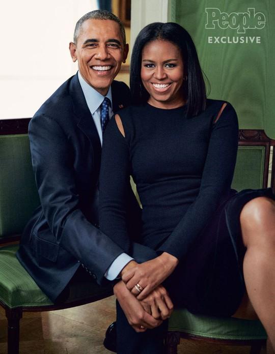 Vợ chồng Tổng thống Barack Obama. Ảnh: People