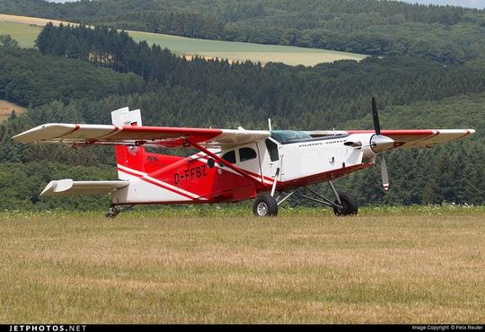 Pilatus PC-6 Turbo Porter. Ảnh: Jetphotos