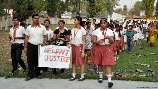 Cứ mỗi 2 phút lại có 1 phụ nữ ở Ấn Độ là nạn nhân của tội ác Ảnh: DPA