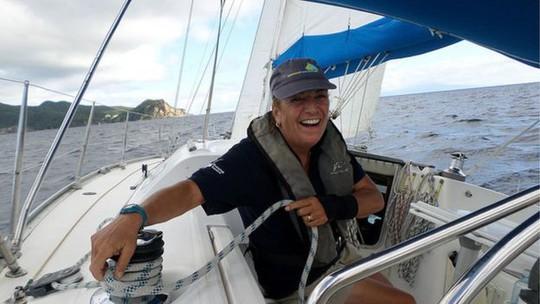 Ông Pippa Turton cho biết thủy thủ dùng Internet giúp đỡ lẫn nhau. Ảnh: BBC