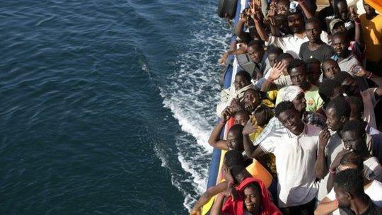 Hơn 6.600 người tị nạn chết đuối ở Địa Trung Hải trong năm 2015 và nửa đầu năm nay. Ảnh: AP