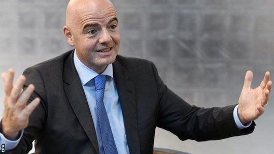 Chủ tịch FIFA, ông Gianni Infantino