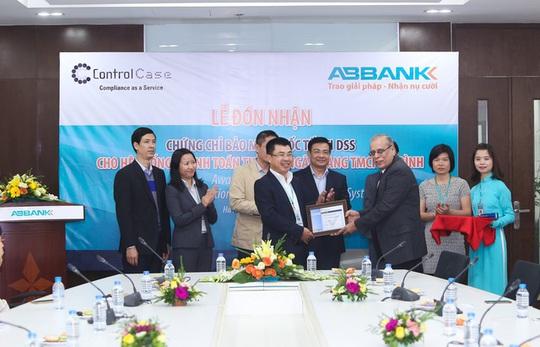 ABBANK đạt chứng nhận PCI DSS