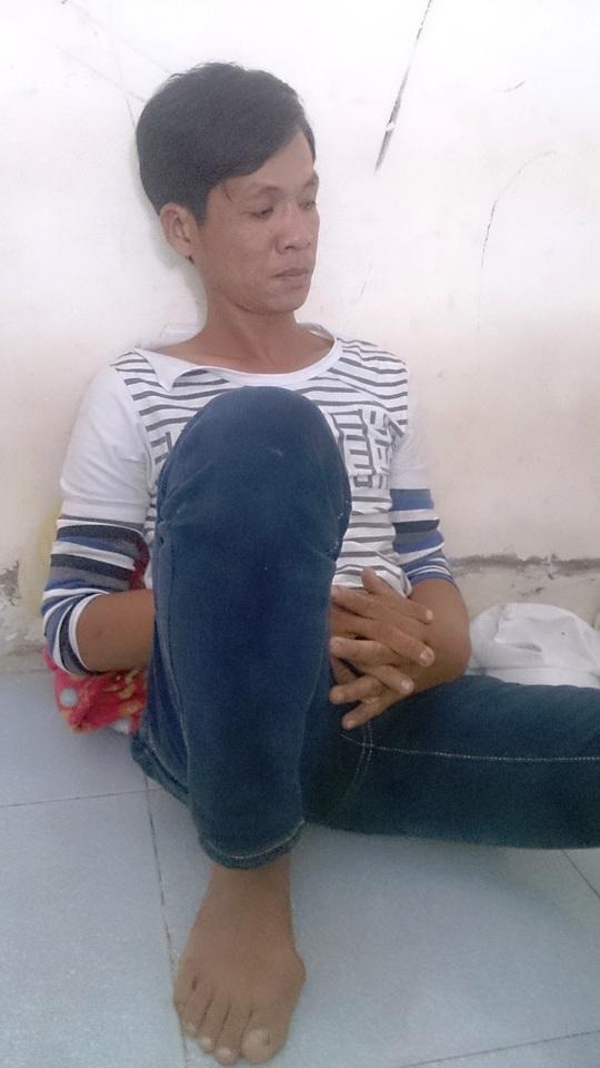 Bùi Quốc Thuận - nghi can tình nghi đến vụ cướp kéo lê cô gái trẻ - bị công an triệu tập điều tra