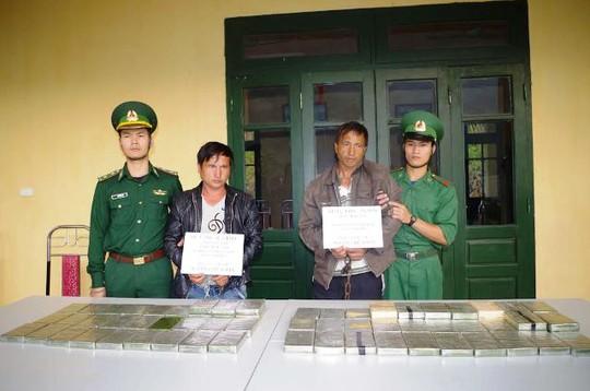 Đây là số lượng heroin lớn nhất từ trước tới nay được Biên Phòng Thanh Hóa bắt giữ trong lãnh thổ
