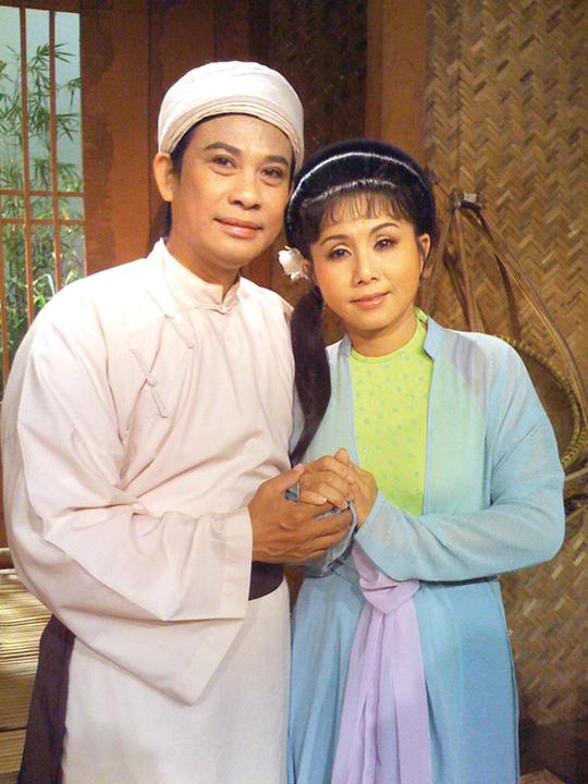 NS Chí Linh - Vân Hà (con rễ và con gái của soạn giả Vân An)