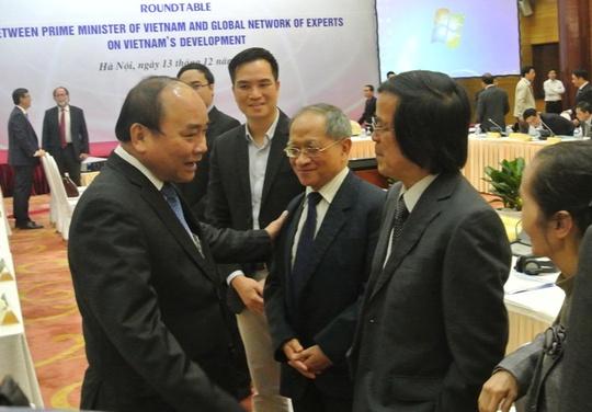 Thủ tướng thể hiện sự quan tâm đến các chuyên gia, nhà khoa học trong nước