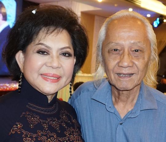 Ca sĩ Giao Linh và nhạc sĩ Ngọc Sơn