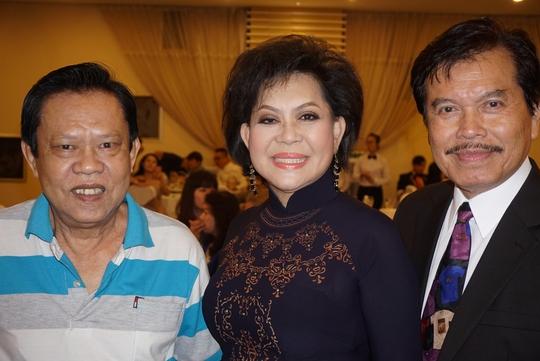Vợ chồng ca sĩ Giao Linh và nhạc sĩ Vinh Sử