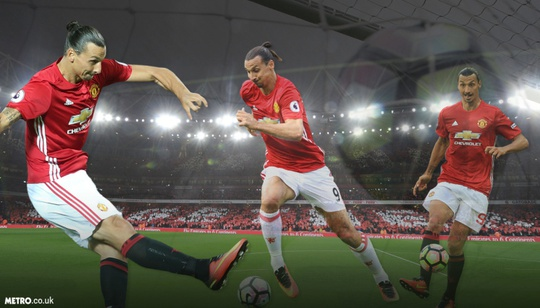 Ibrahimovic dứt điểm kém nhất so với các tiền đạo khác ở Premier League