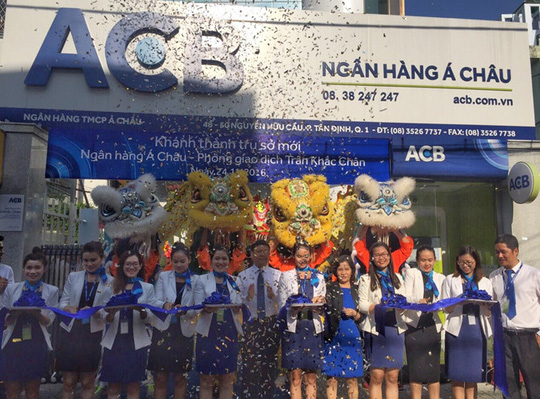 ACB khai trương phòng giao dịch Trần Khắc Chân