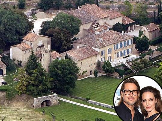 Những biệt thự triệu đô của cặp đôi Angelina Jolie - Brad Pitt từng sống