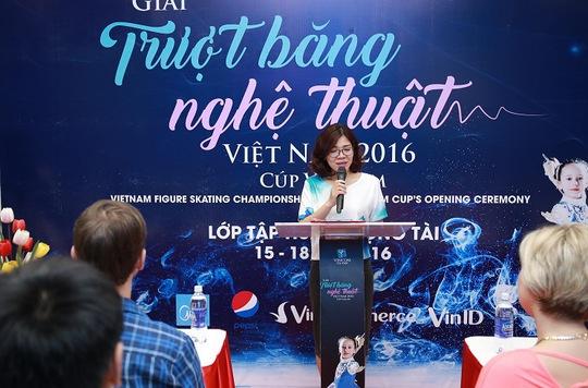 Khởi động giải trượt băng nghệ thuật Việt Nam 2016 - Cup Vincom