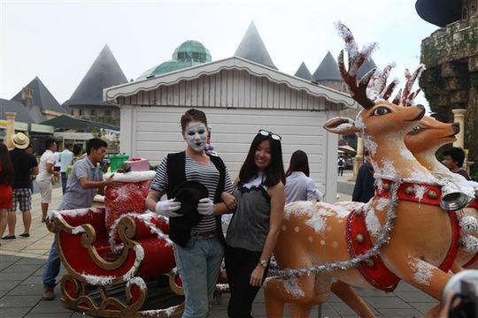 Đến Bà Nà Hills trải nghiệm Noel cổ tích