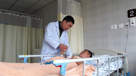 Bệnh nhân đột quỵ được điều trị tại Bệnh viện Đại học Y Dược TP HCM