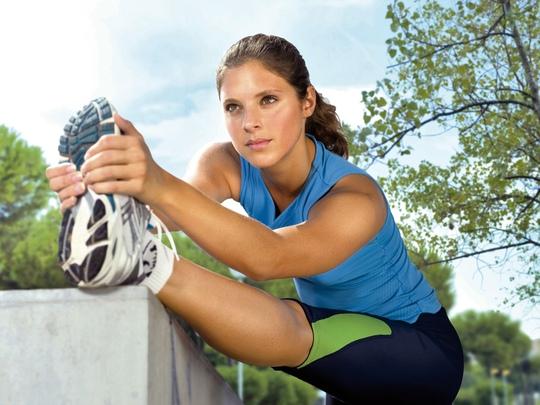 Tác động lên cơ rõ hơn do tập luyện vào 2 tuần trước kỳ kinh nguyệt Ảnh: PINTEREST