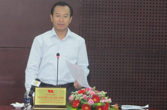 Bí thư Xuân Anh khẳng định có nhiều cán bộ nhận tiền của dân để xảy ra tình trạng nhà trái phép xây dựng tràn lan trên đất dự án