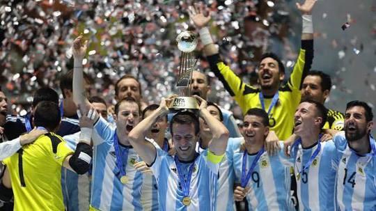 Argentina lần đầu vô địch futsal thế giới