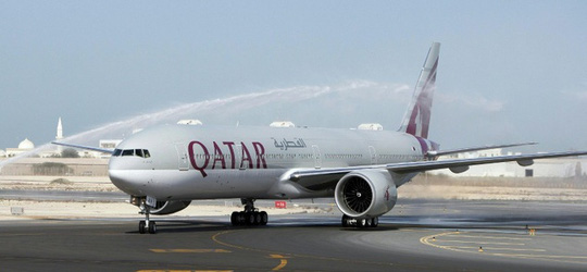 Chuyến bay QR-708 lộ trình bay Washington - Doha phải hạ cánh khẩn cấp hôm 4-12 vì một hành khách bị đau tim. Ảnh: Daily Mail