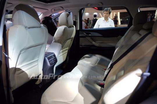 """Chi tiết chiếc crossover 7 chỗ """"hàng hot"""" Mazda CX-9 2016"""