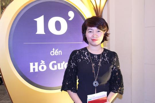 Bà Liên Dung, Giám đốc kinh doanh Công ty CP Bất động sản Titan