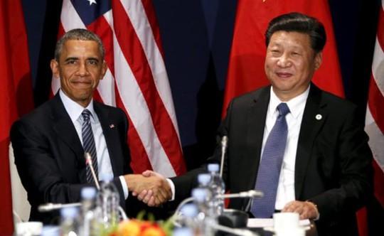 Quan hệ Mỹ - Trung Quốc đang căng thẳng vì vấn đề biển Đông. Ảnh: Fast News Track