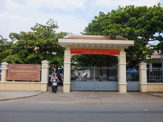 Bệnh viện Đa khoa TP Hội An