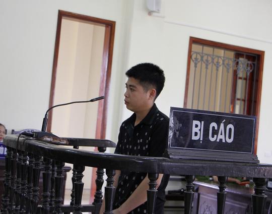 Bị cáo Vi Văn Thắng tại phiên tòa