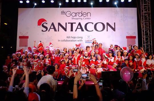 Lễ hội Ông già Noel - SantaCon 2015 của TTTM The Garden