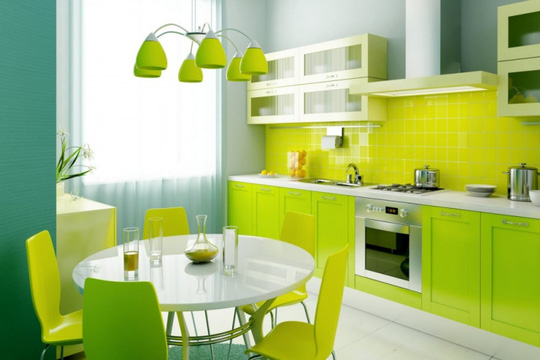 Những màu sắc không nên trang trí cho căn nhà theo phong thủy