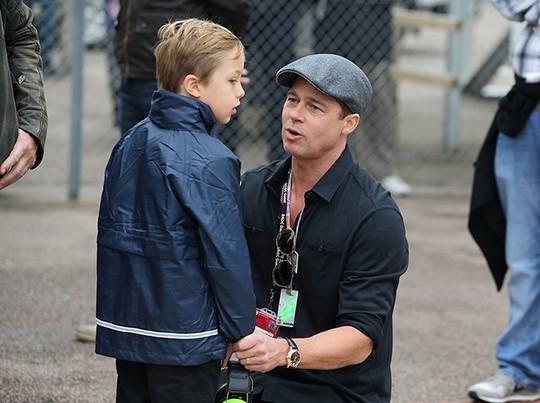 Brad Pitt được biết là một ông bố thương các con mình