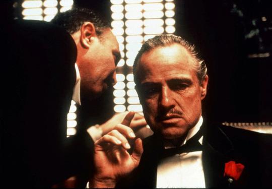 Diễn viên đình đám Marlon Brando trong Bố già