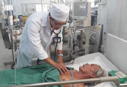 Bệnh nhân K. hiện đã tỉnh. Ảnh: Lê Khánh