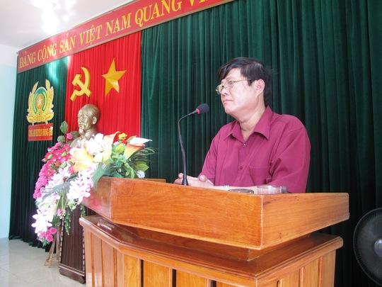 Chủ tịch UBND huyện Đông Hòa Võ Ngọc Hòa cho rằng cần xử nghiêm vụ án này
