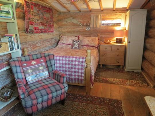 Ngôi nhà có giá 115 bảng Anh/đêm cho 2 người.