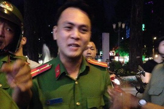 Thiếu úy Bùi Xuân Hải bị đề nghị cảnh cáo