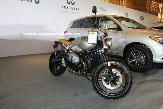 Hãng mô tô duy nhất tham dự triển lãm VIMS 2016 là BMW Motorrad sẽ mang đến chiếc R NineT Scrambler cùng mẫu naked bike G310R.
