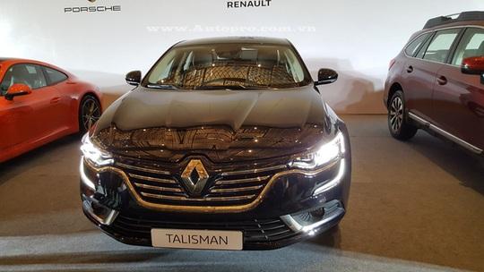 Renault Talisman, mẫu sedan cỡ trung cạnh tranh với Toyota Camry, Honda Accord hay Mazda 6 tại Việt Nam.